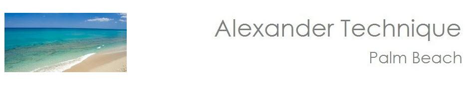 Alexander Technique Palm Beach